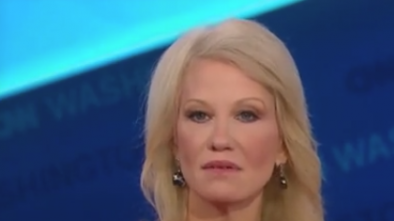 Kellyanne Conway Gets Heated After CNN Plays Clip of Her NeverTrump Husband