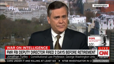 Law Prof: McCabe Firing Suggests Comey Lied to Congress Under Oath