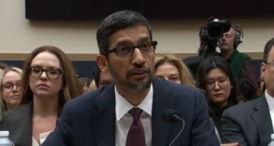 Lawmakers Grill Google CEO On Conservative Censorship, Tech Deal With China
