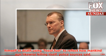 Lawyer Burns Himself to Death in NY to Protest Global Warming