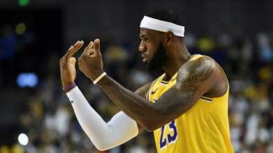 LeBron Under Fire After Blaming China Row on 'Misinformed' Rockets GM