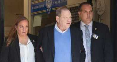 Leftist Hollywood Perv Harvey Weinstein Turns Himself In