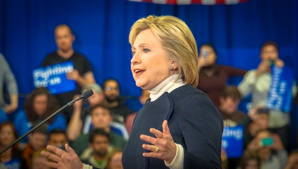 Hillary Clinton 2016 election photo