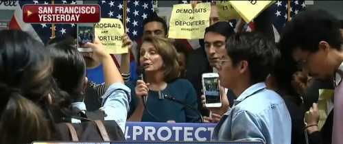 Leftists Warn Schumer and Pelosi Not to Compromise With Trump Over Border Wall