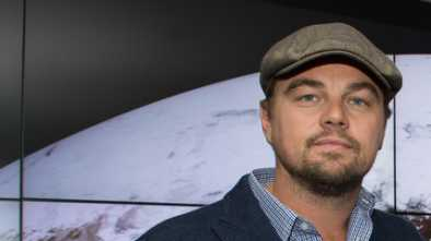 Leonardo DiCaprio Leads 'Climate Change' Protest in DC