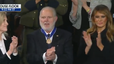 Liberals Attack Rush Limbaugh After Trump Awards Him Presidential Medal of Freedom