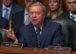 Lindsey Graham Delivers Scathing Rebuke of Democrats in Judiciary Hearing.