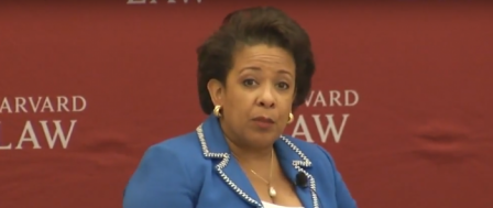 Loretta Lynch, Under a Cloud, to be Honored for Public Service