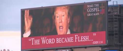 'Make the Gospel Great Again' Billboard Taken Down