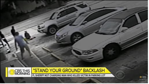 Man Charged with Manslaughter in Florida Stand your Ground Case