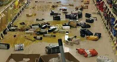 Massive Quake Strikes Southern Calif. w/ Epicenter in Navy Bombing Range 1