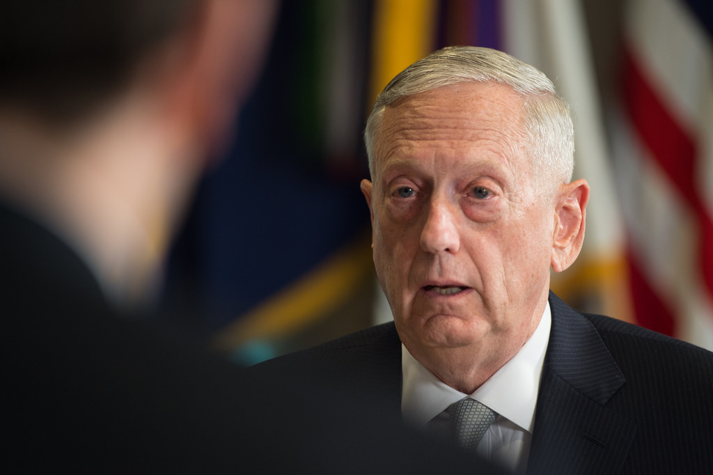 Secretary of Defense Mattis photo