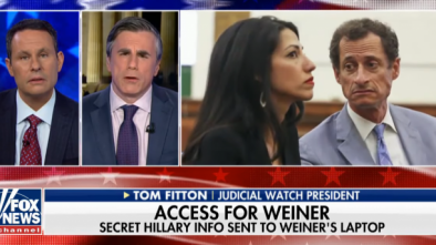 McCabe Under Active DOJ Investigation For Sitting on Weiner Emails