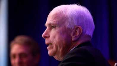 McCain: Obama's Leadership Was Better than Trump's