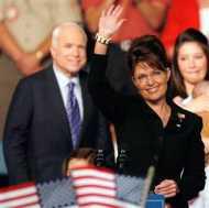 McCain Regrets He Chose Sarah Palin as His Running Mate