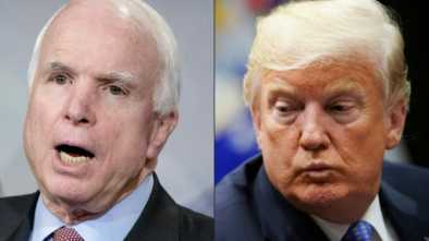 McCain Takes Parting Shot at Trump in Posthumous Message