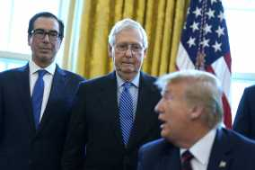 McConnell: Impeachment 'Diverted Attention' from Wuhan Virus 1