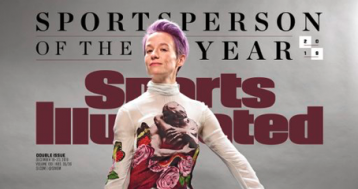 Megan Rapinoe Blasts SI for Lack of Diversity While Accepting Its Award