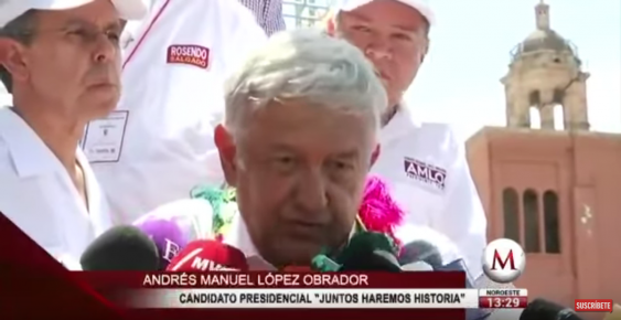 Mexican Pres Candidate on Mass Exodus to USA: 'It's A Human Right'