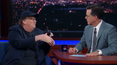 MICHAEL MOORE: Transgenders 'Should Refuse to Leave' Military