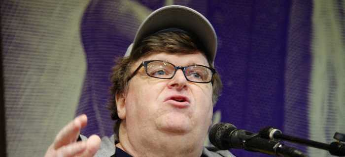Michael Moore Unhinged: Trump Is a 'Threat to Humanity'