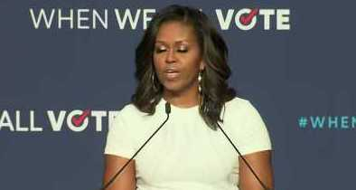 """Michelle Obama Says She's Sick of the """"Nastiness"""" in Politics"""