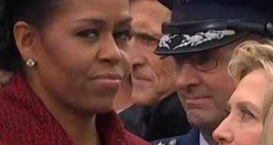 Michelle Said She Stopped 'Trying to Smile' During Trump's Inauguration