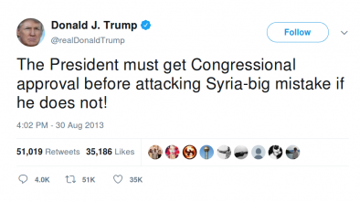 Michigan Rep Amash: Syria Strikes 'Unconstitutional, Illegal, and Reckless'