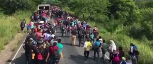 Migrant Caravan Heading to U.S. Grows to More Than 7,000