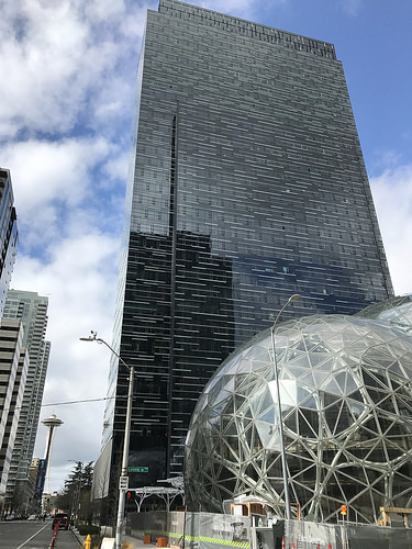 Amazon headquarters photo