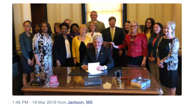 Mississippi Enacts Toughest Abortion Ban in US