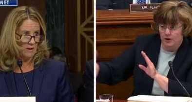 Mitchell Questions Blasey Ford on Polygraph Validity and Decision to Go Public