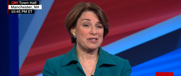 'Moderate' Amy Klobuchar Has One of the Worst Records on Conservative Issues