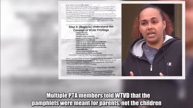 Mom Outraged After School Gives Her 8-Year-Old Pamphlets on 'White Privilege'