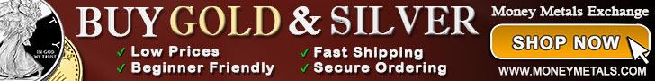 Buy Silver from Money Metals Exchange