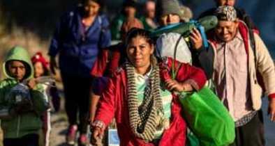 More Than 1,500 Caravan Migrants at US-Mexico Border