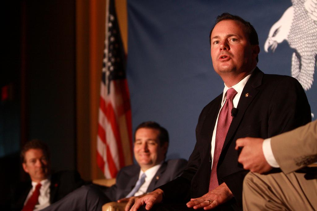 Ted Cruz Mike Lee photo