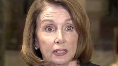 Nancy Pelosi Freezes, Can't Speak Clearly while Attacking Trump