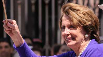 Nancy Pelosi's Face Spasms Mar Speech [Video]