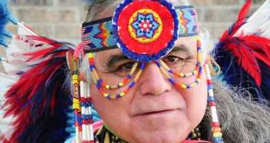 Native American Wants Fed Jackboots to Back Off on Taking His Feathers