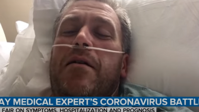 NBC Doctor Who Claims to Have Survived COVID Is Called Out for Fake News