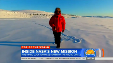NBC Visits The Arctic: 'No Debate at All', Climate Change is Real