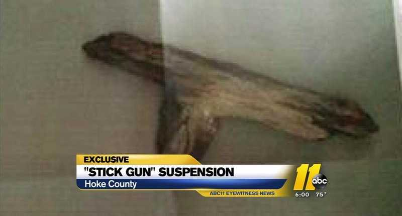 NC Girl, 5, Suspended for Playing with 'Stick Gun'