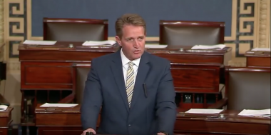 'NeverTrump' Sen. Flake Likens President to Stalin