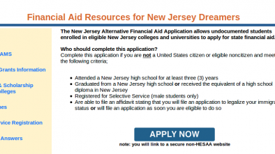 New Jersey Allows Illegal Aliens to Receive College Financial Aid 1