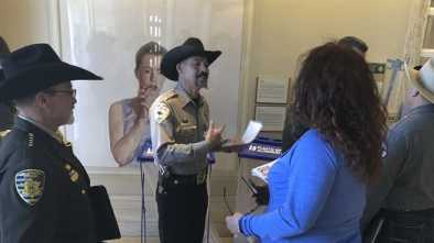 New Mexico Gov. Tells Sheriffs to Resign if They Won't Enforce Red-Flag Laws