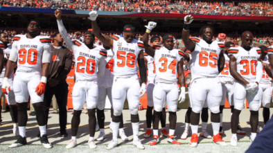NFL Protests Continue; Dolphins Stand for 'God Save the Queen'