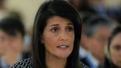 Nikki Haley Corrects White House: 'I Don't Get Confused'