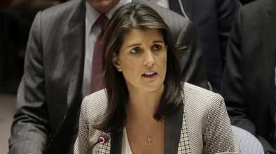 Nikki Haley Says Cabinet Officials Asked Her to Oppose