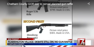 North Carolina GOP, Fraternal Order of Police Criticized for Gun Raffles
